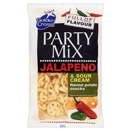 golden cross party mix jalapeno 125g