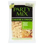 golden cross party mix cheese & onion 125g