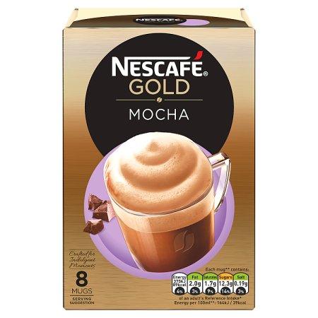 nescafe gold mocha 8s
