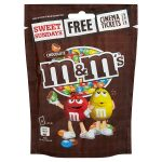 m&m chocolate pouch 125g
