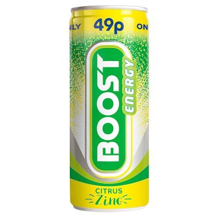 boost citrus zing 49p 250ml