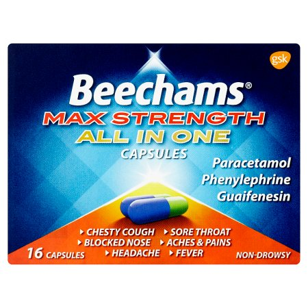 beechams max all in one caplets 16s