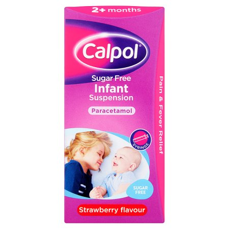 calpol 2+ sugar free 100ml