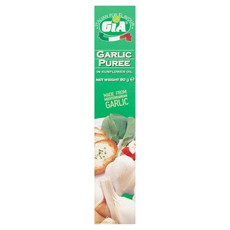gia garlic puree tube 90g