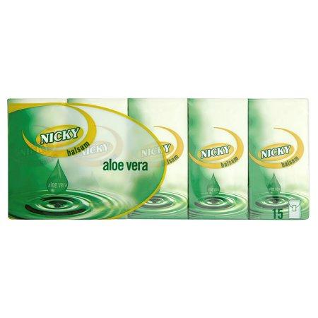 nicky aloe vera pocket tissues [15 pack] 15pk