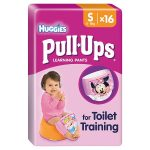 huggies pull ups small girl 16s