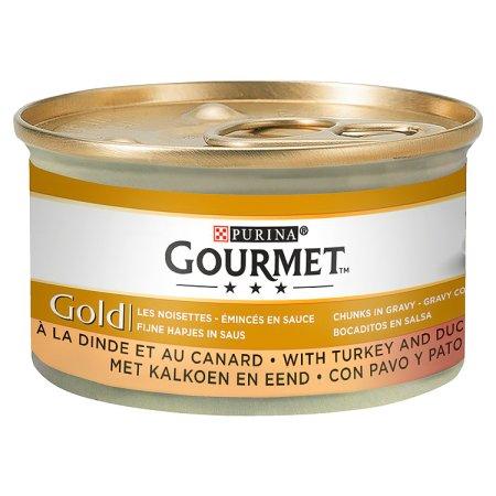 gourmet gold duo duck & turkey casserole 85g