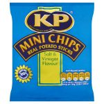 kp mini chips salt & vinegar 33g