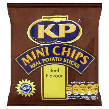 kp mini chips bbq beef 33g