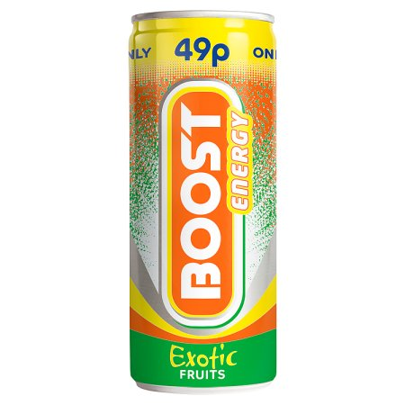 boost exotic fruits 49p 250ml