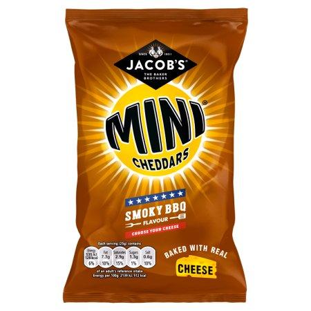 mini cheddars smokey bbq 50g