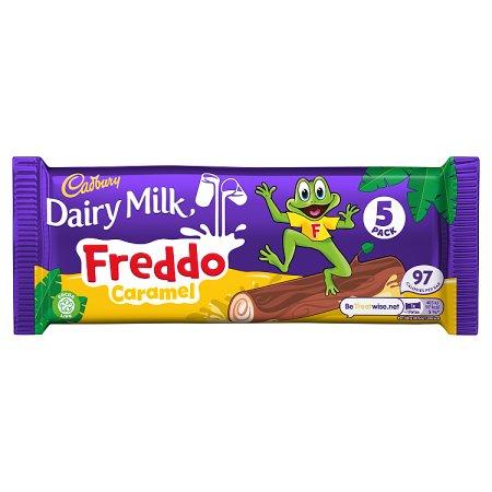 cadbury freddo caramel [5 pack] 97.5g