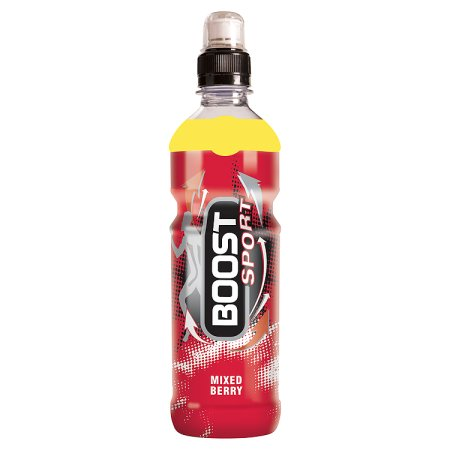 boost sport mixed berry 50p 500ml