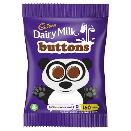 cadbury chocolate button 30g