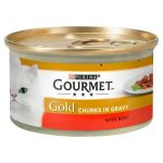 gourmet gold chunks beef in gravy 85g