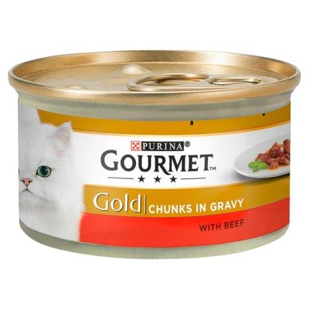 gourmet gold chunks beef in gravy 85g