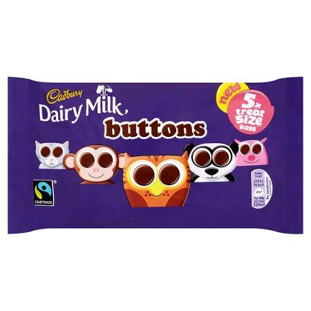 cadbury buttons [5 pack] 5pk