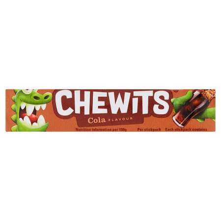 chewits cola stick pack 30g