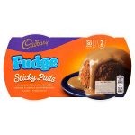 cadbury fudge sponge pudding 2pack