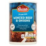 grants minced beef & onions 392g