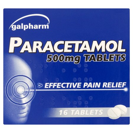 galpharm paracetamol tablets 16s