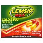 lemsip max capsules 8s