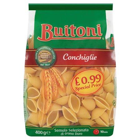 buitoni conchiglie shell 99p 400g