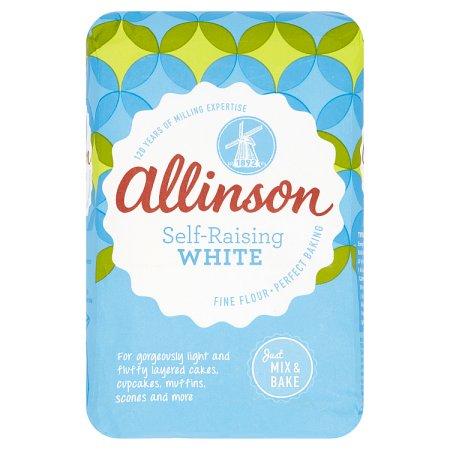allinsons mix n bake self raising flour 1.5kg
