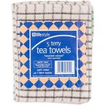 lifestyle terry tea towels 5s 5s