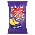 golden wonder pickled onion [6 pack] 25g