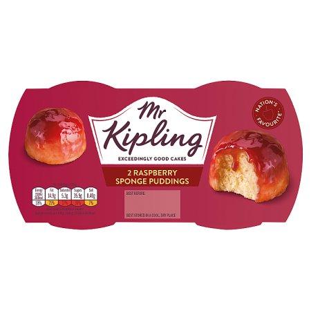 mr kipling rasberry pudding [2 pack] 2pk