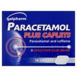 galpharm paracetamol plus caplets 16s