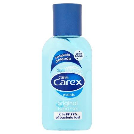 carex hand gel original 50ml
