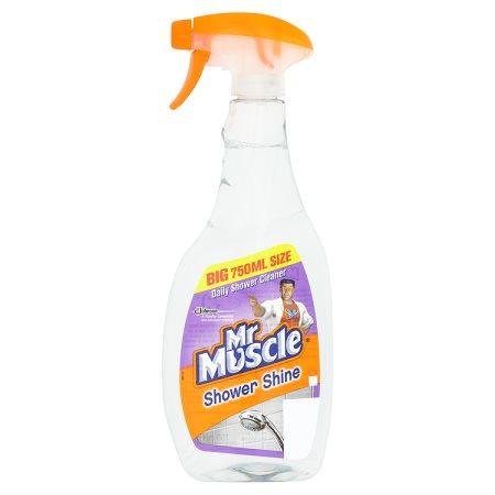 mr muscle shower spray 750ml