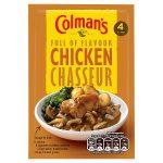 colmans chicken chasseur 40g