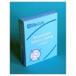 lifestyle paracetamol blister tablets 16s