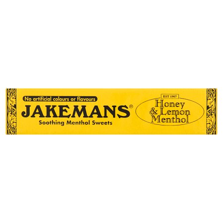 jakemans honey & lemon stick pack 41g