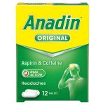 anadin original tablets 12s