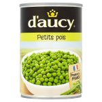 daucy peas very fine 400g