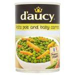 daucy peas & carrots very fine 400g