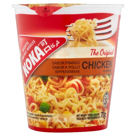 koka noodles chicken cups 70g