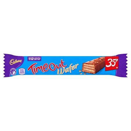 cadbury timeout 35p 21.2g