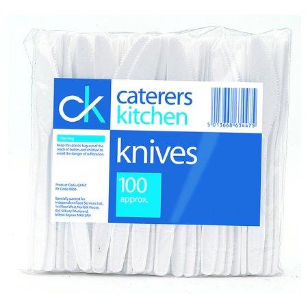 ck plastic knives 100s