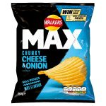 walkers max cheese & onion 50g