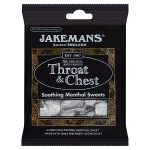 jakemans throat & chest bag 100g