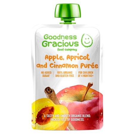 goodness gracious apple apricot & cinnamon 140g
