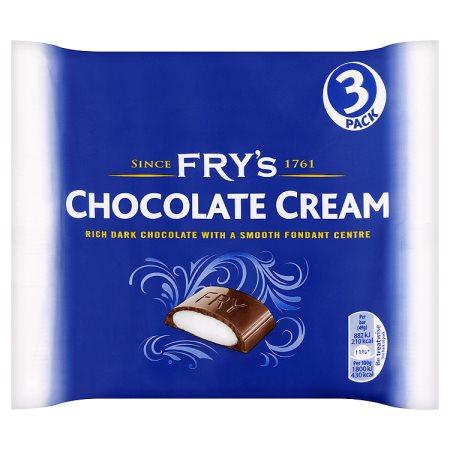 frys choclate cream [3 pack] 3pk