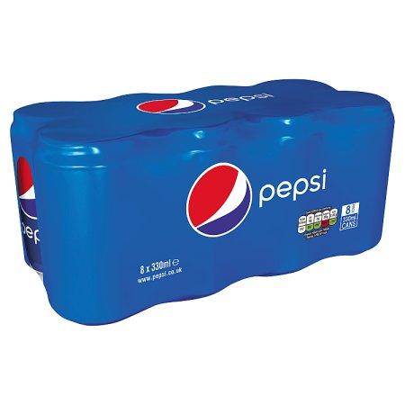 pepsi [8 pack] 8x330m