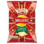 walkers tomato ketchup 32.5g
