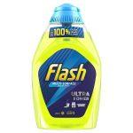 flash liquid gel lemon 400ml